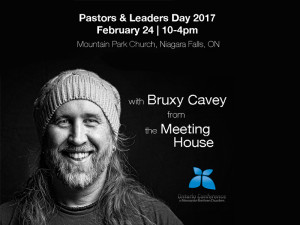 Pastors & Leaders Day - February 24, 2017 - The following day, February 24th is our annual Pastor/Leader Day. This year we have invited Bruxy Cavey from the Meeting House as our key presenter. Together we will be exploring the challenging pastoral implications of ministry with/to the LGBTQ community. If you have not yet registered let me encourage you to do so right ASAP. The deadline for registration is Feb. 10th. There are few topics more pertinent to the future of our churches.