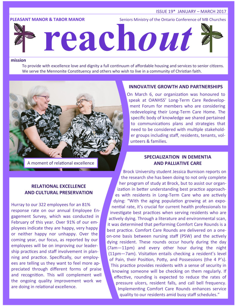 Reachout Issue 19 -2